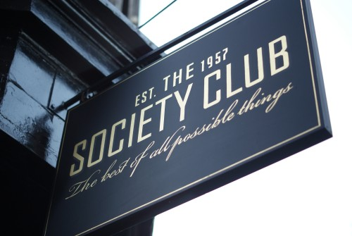 The Society Club by Paul Ockelford